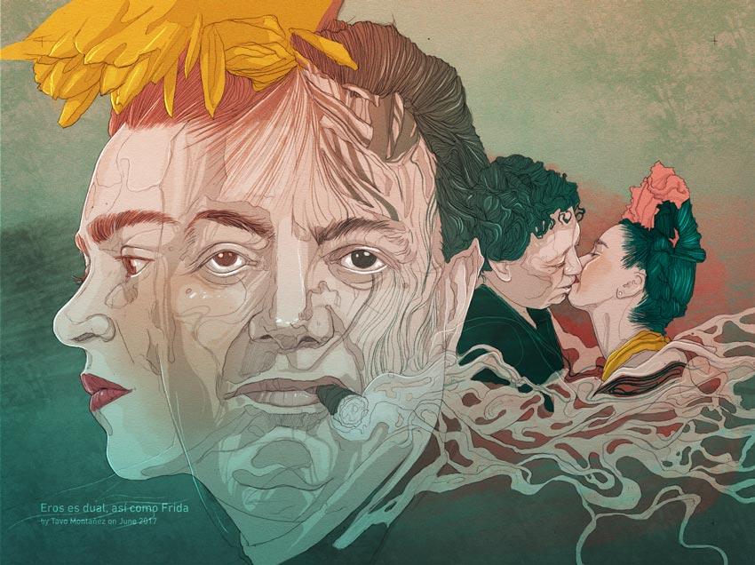 Los Amores de Frida by Tavo Montanez