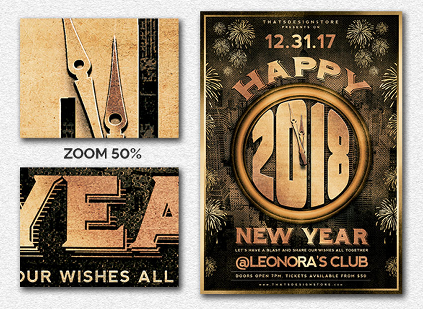 Best New YearS Eve Flyers And Invitations