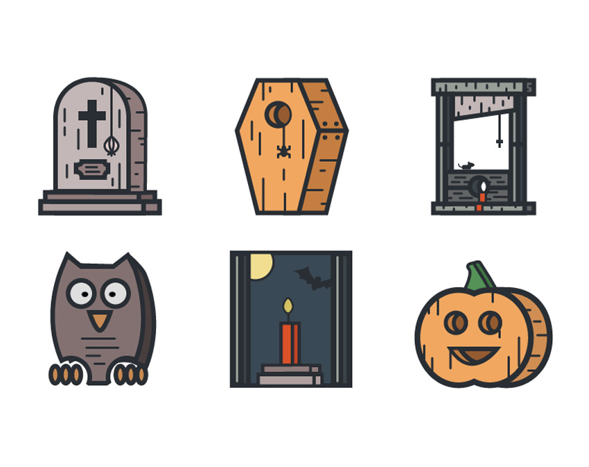 Create a Halloween Themed Icon Pack in Adobe Illustrator