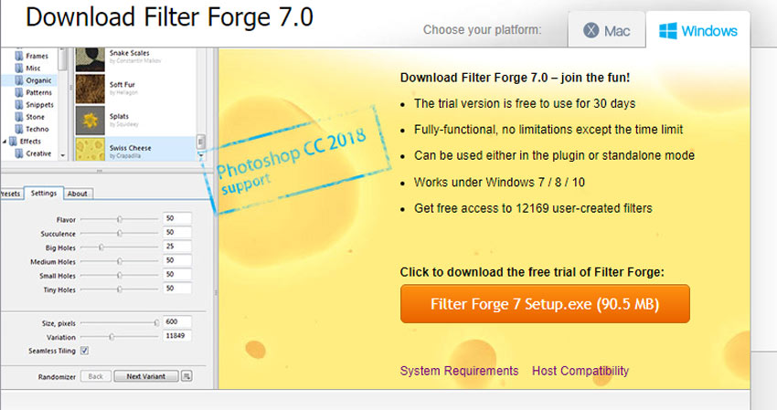 Download Filter Forge
