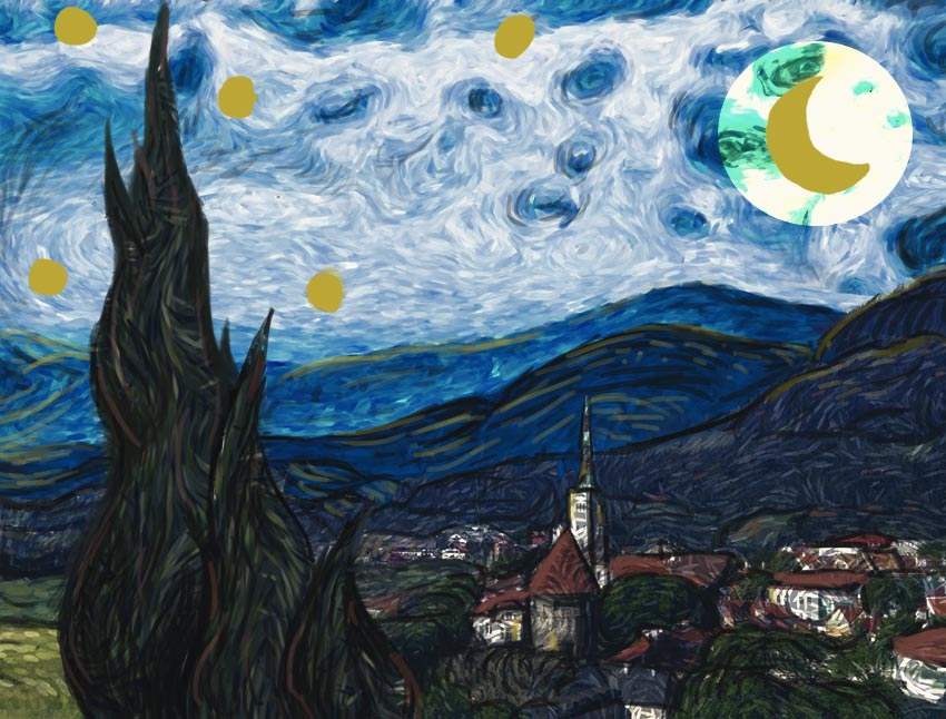 How to Create a Starry Night Photo Manipulation With Photoshop and Filter Forge