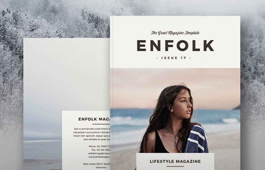 Best Resources of 2017: Magazine Templates