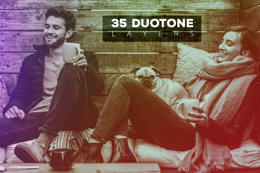 35 Duotone Photo Effects