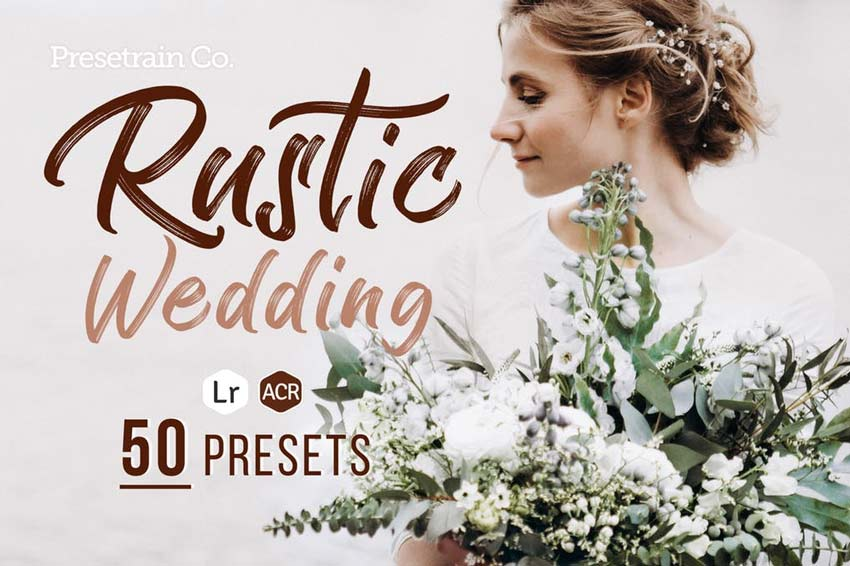 Rustic Wedding Presets for Lightroom Photoshop