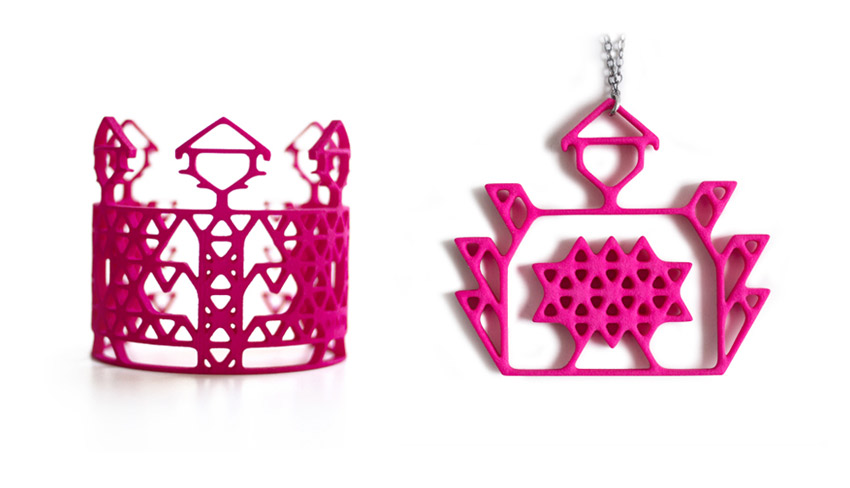 3D Printed Jewellery by Gergana Stankova