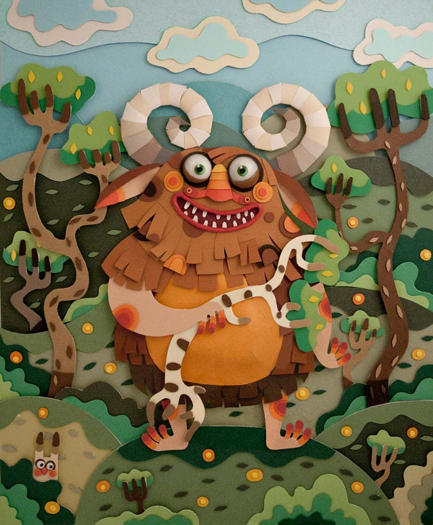 Paper Monsters by Katina Peeva