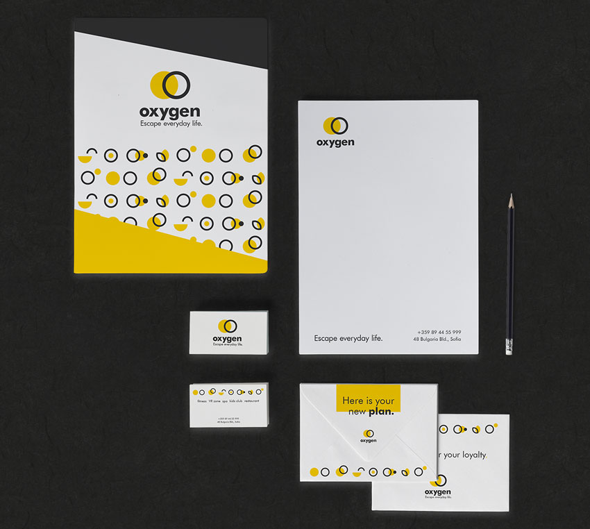 Oxygen Fitness Center Branding by Radostina Georgieva