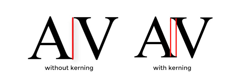 What is Kerning - Definition