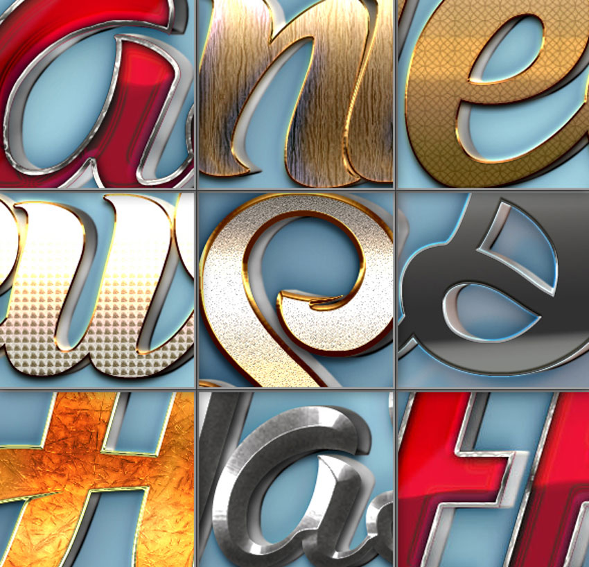 Best Resources of 2017: Photoshop Text Effects & Layer Styles