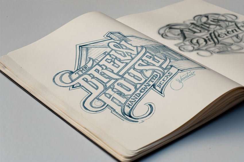 The Difference Between Typography & Hand Lettering: Typography in...