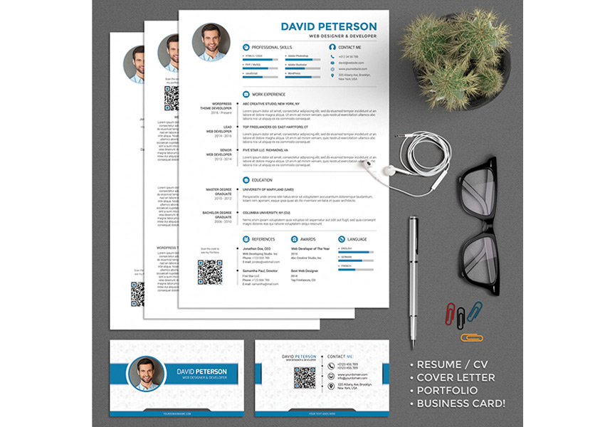 best of 2017 stylish professional cv resume templates