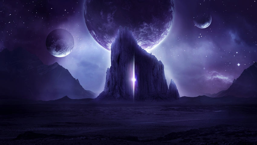 How to Create a Dark Sci-Fi Landscape Photo Manipulation With Adobe Photoshop