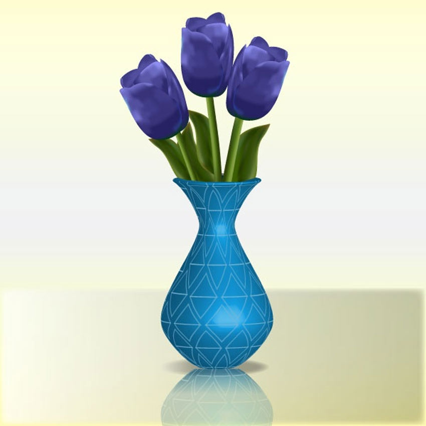 Create Detailed Tulips With Gradient Mesh Without the Mesh Tool in Illustrator