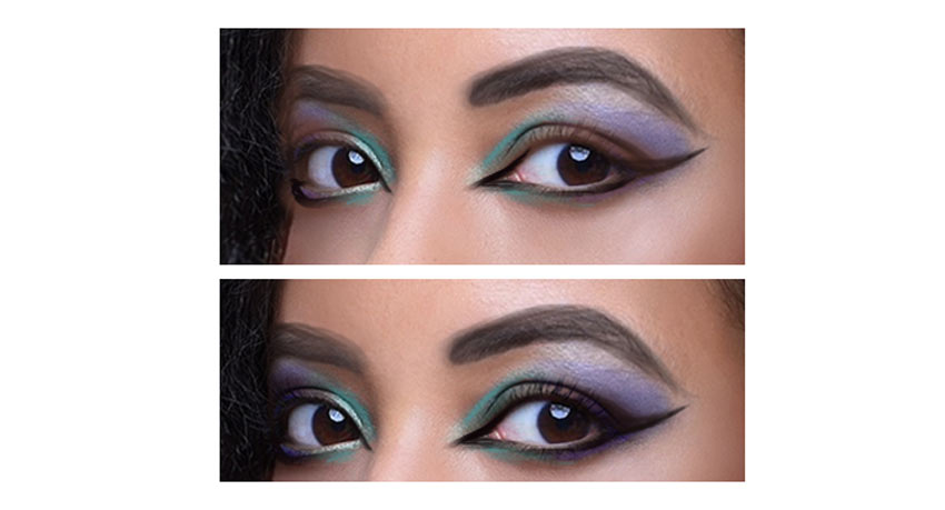 Apply eyeshadow