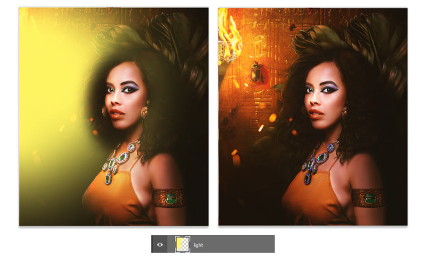How to Create an Egyptian Goddess Manipulation in Adobe Photoshop