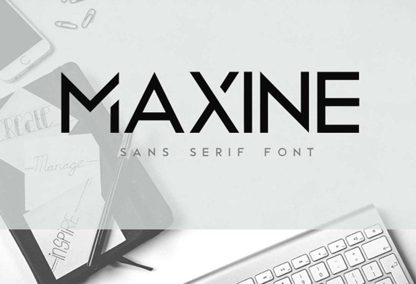Maxine Font