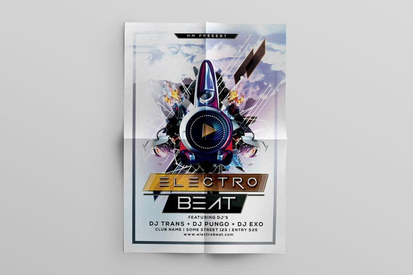 Electro Beat Music Flyer