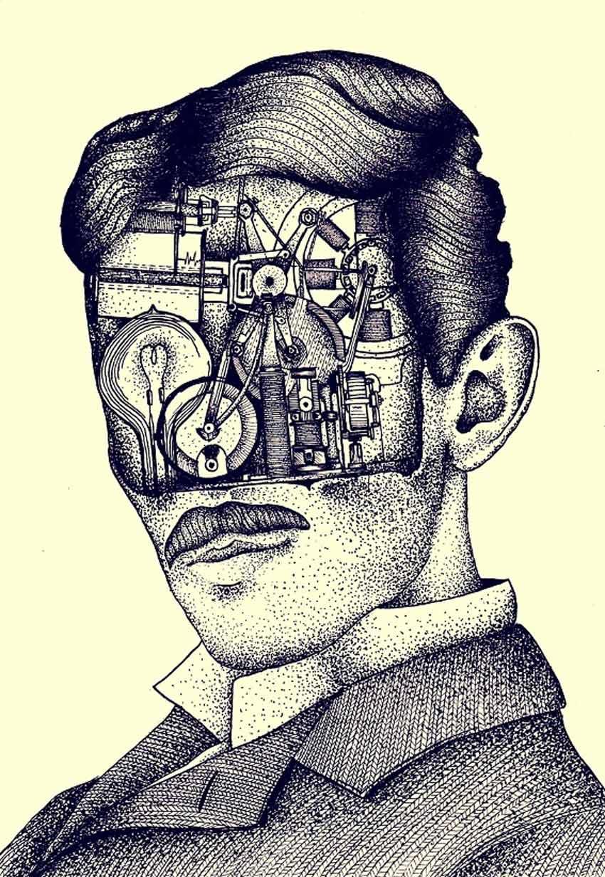 Nikola Tesla by Vedran Stimac