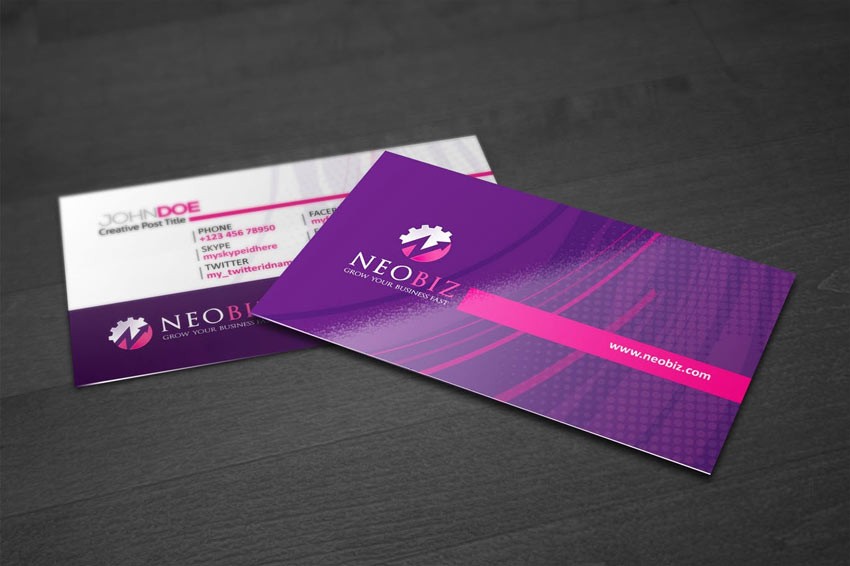 NeoBiz Creative Business Card