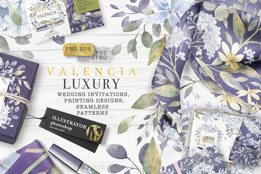 Valencia Luxury Watercolors