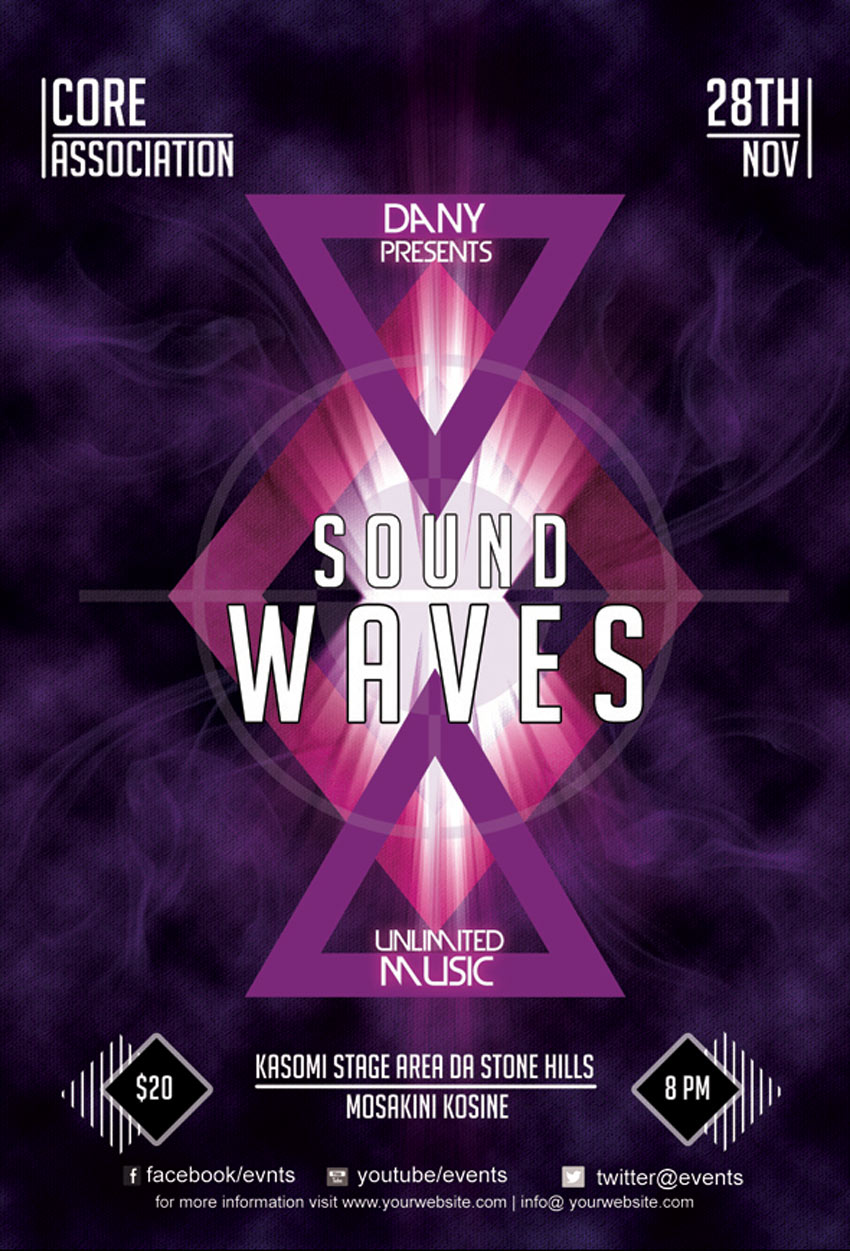 Sound Waves Flyer 2