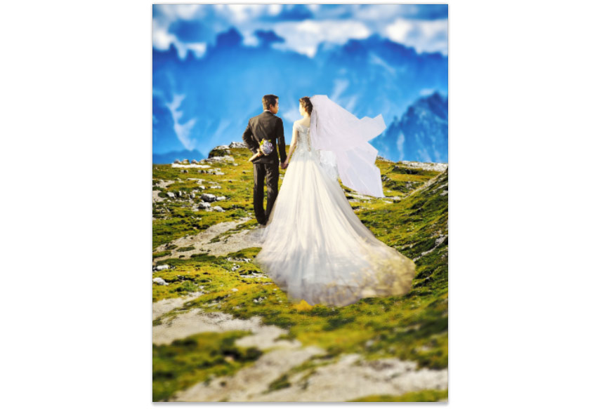 Wedding manipulation result