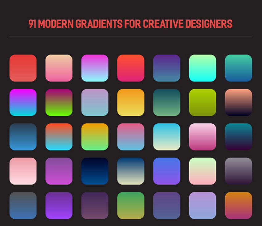 91 Modern Gradients