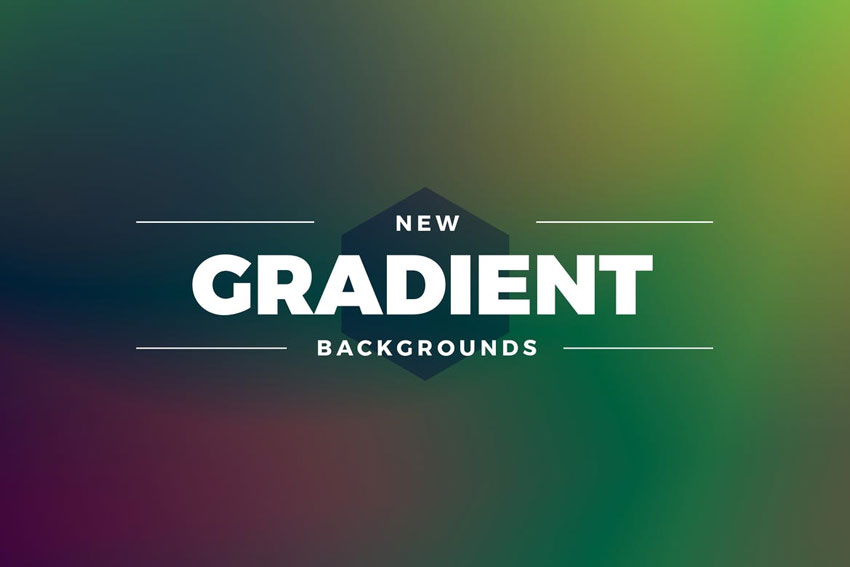 New Gradient Colors Backgrounds