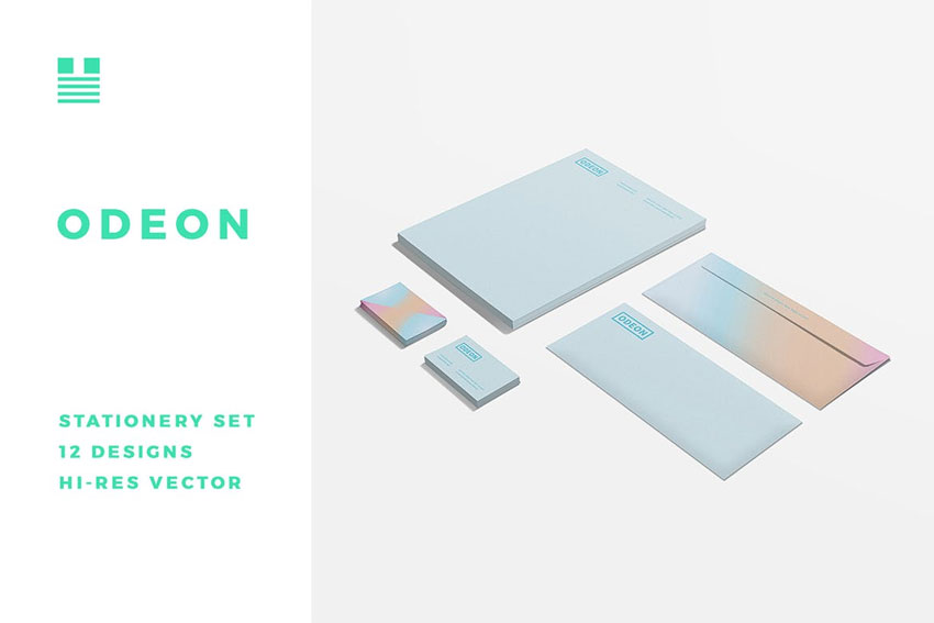 Odeon Stationery Set
