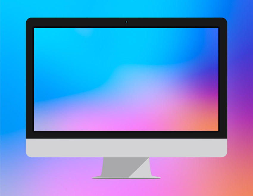 8 Color Gradient Blur Backgrounds