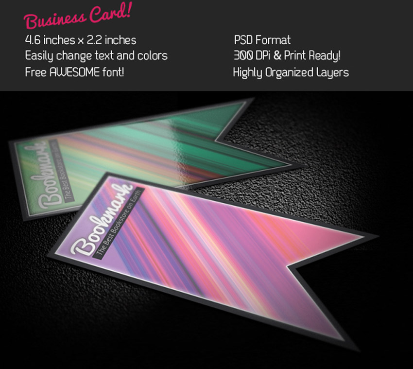 Bookmark Business Card