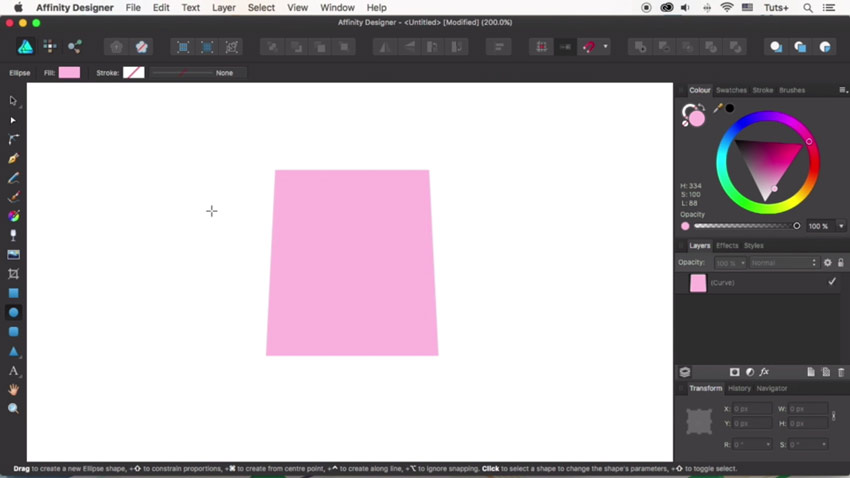 How to Design Flat Icons in Affinity Designer: Introduction