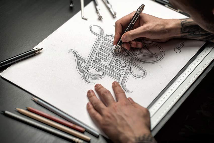 Sketch  Hand Drawn Mockup Set