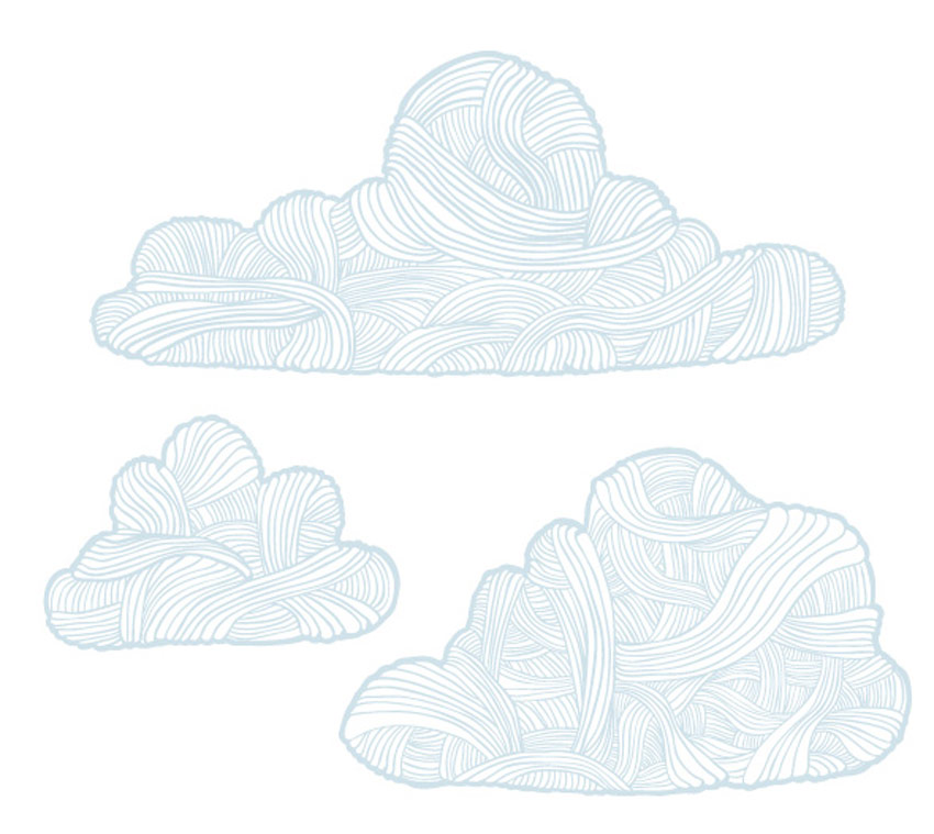 Hand Drawn Cloudy Pack