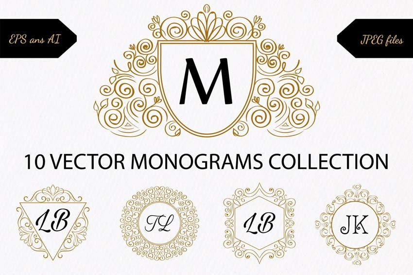 10 monograms collection