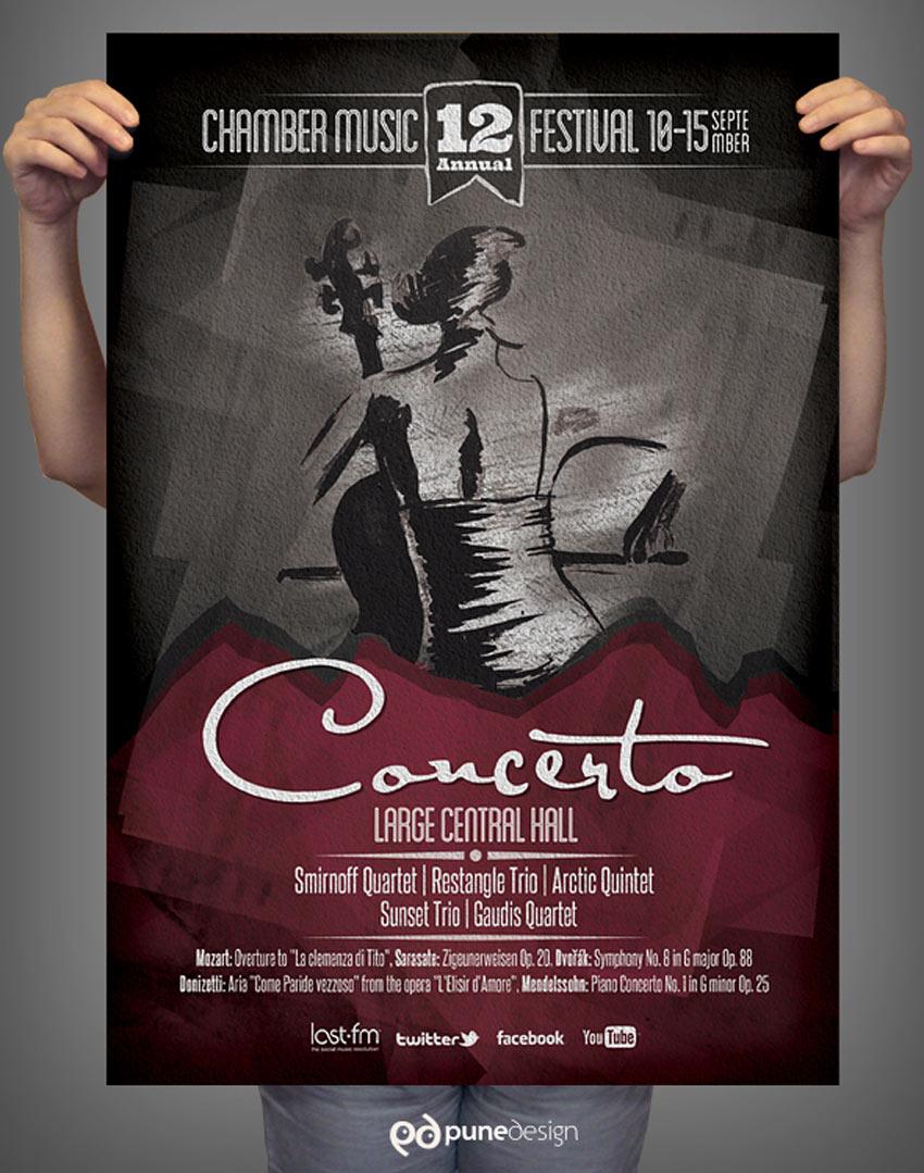 Chamber Music Festival Poster