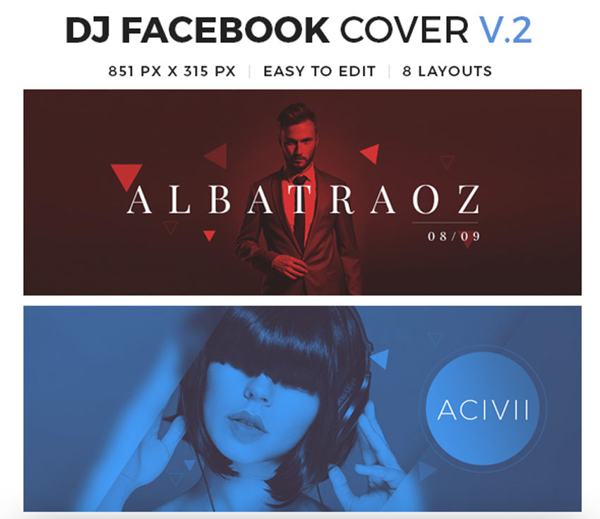 Dj Facebook Cover V2