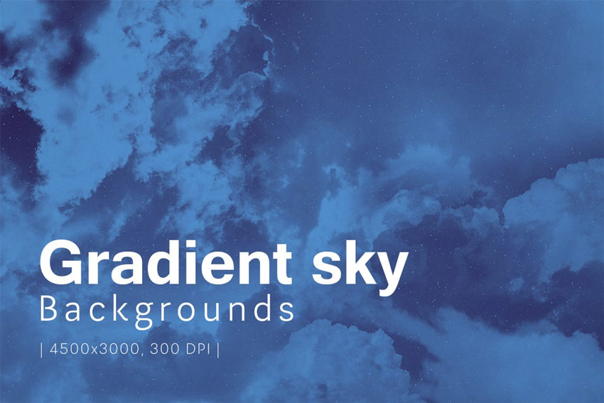 Gradient Sky Backgrounds