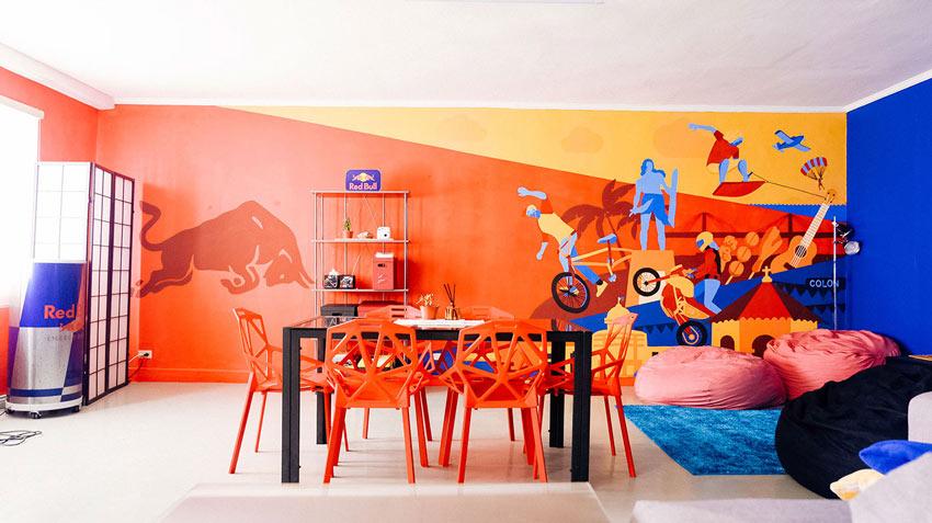 Red Bull Mural