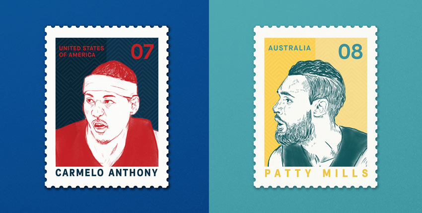Olympics Postage Stamps