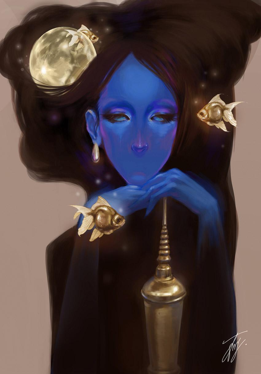Blue Preta