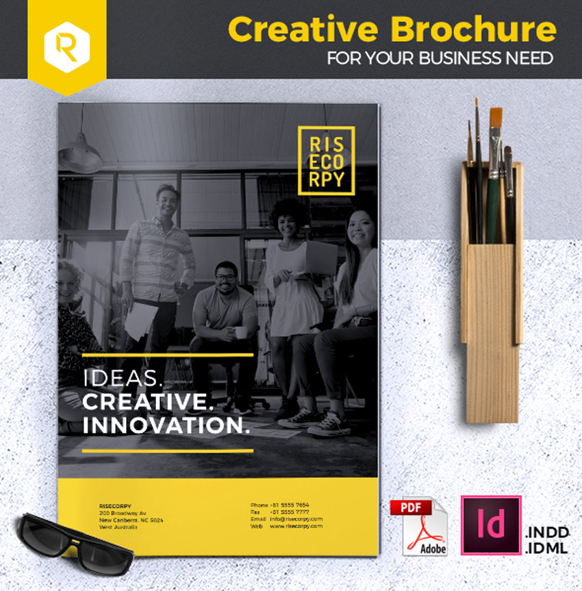 Creative Brochure Template Vol 32