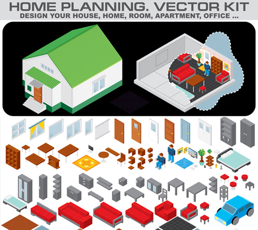 49 Amazing Isometric Vectors and Icons