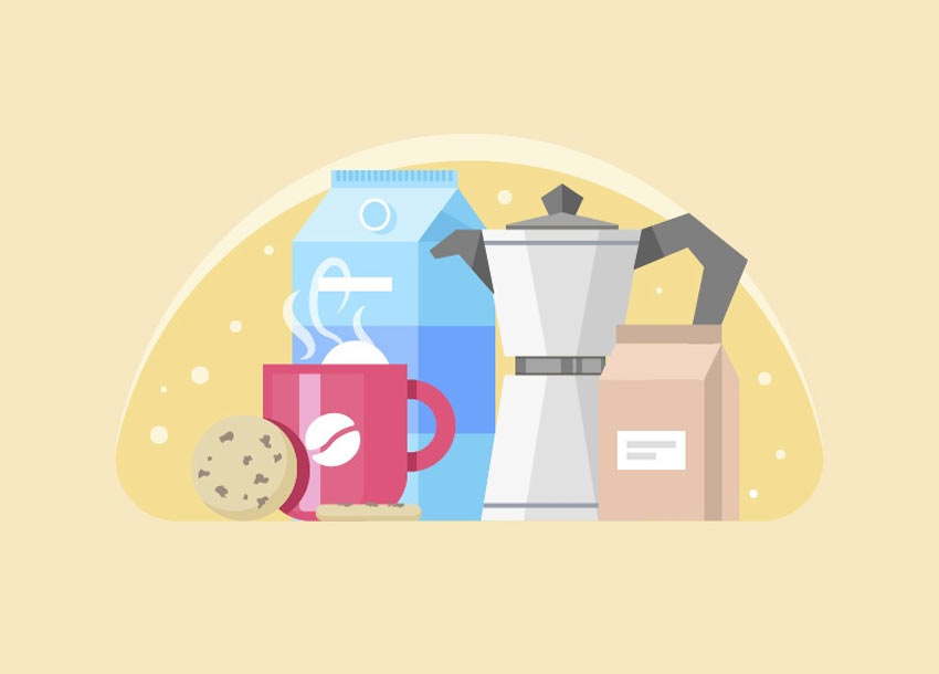 How to Create a Coffee Scene Illustration in Adobe Illustrator