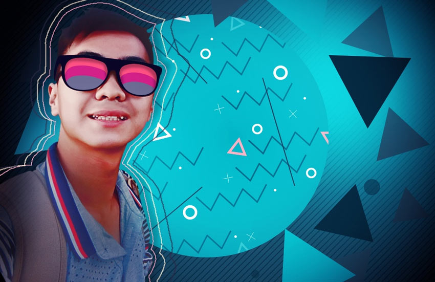 How to Create a 90s Graphical Photo Effect in Adobe Photoshop