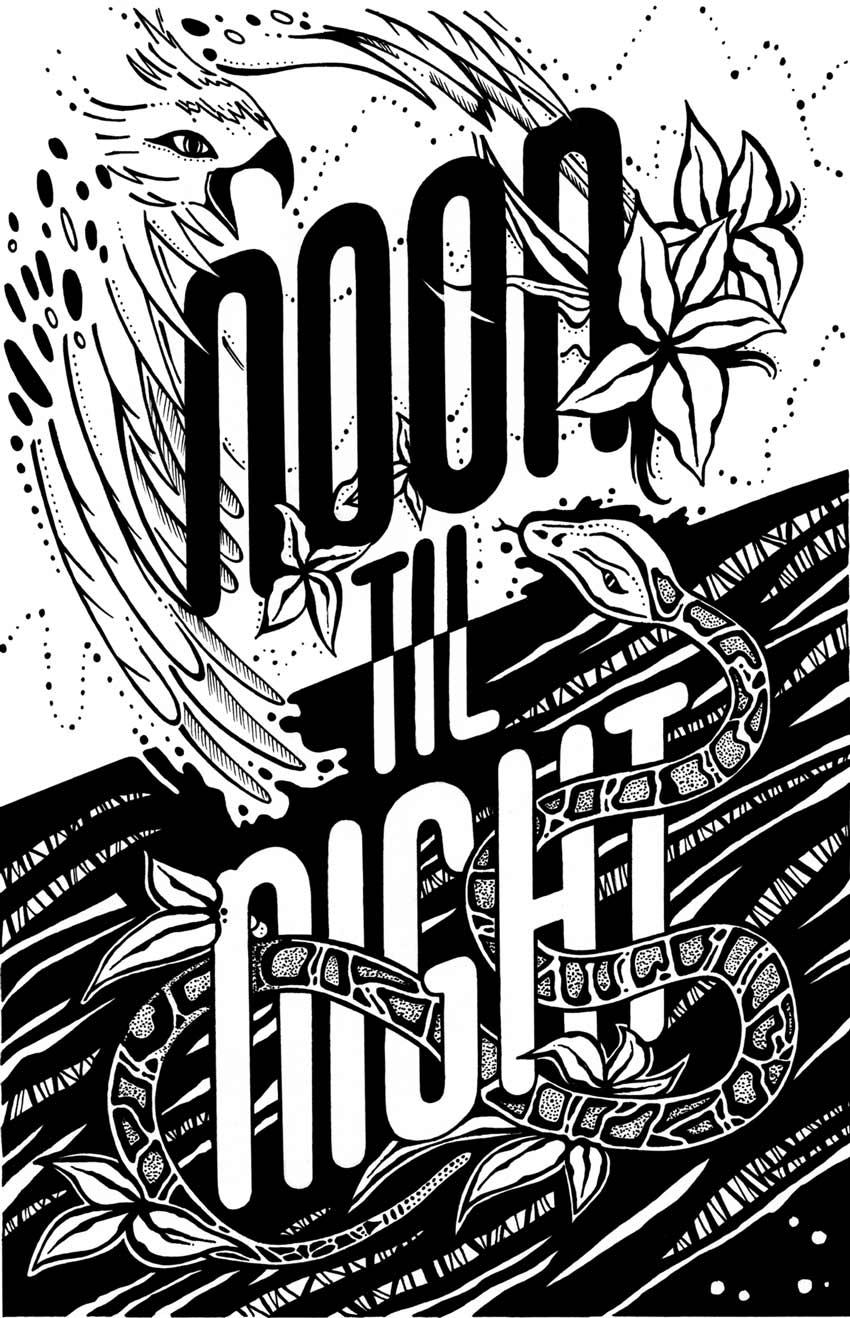 Noon til Night Illustration