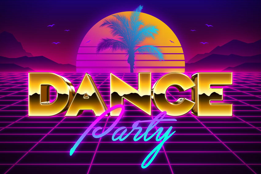 80s Text Effects Vol 2