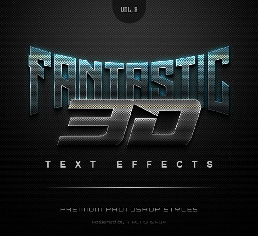 27 Cool Photoshop Text Effects, Actions & Styles for 2019