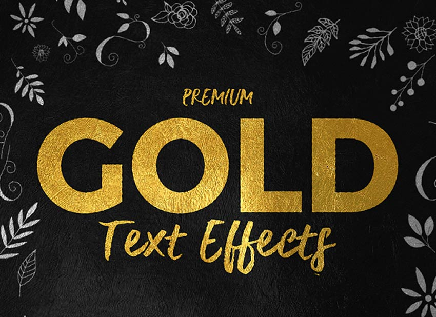 27 cool photoshop text effects  actions  u0026 styles for 2019