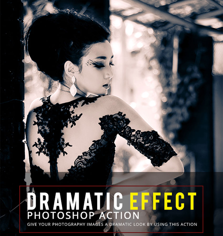 Dramatic Effect Photoshop Action